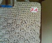 模様編みバッグのポイント