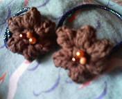 パプコーン編みのオハナ