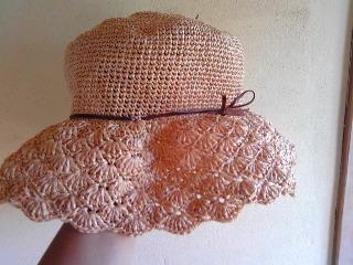 エコアンダリヤの帽子・正面